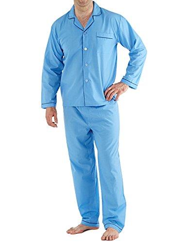 Generic Herren Schlafanzug * XXXXX-Large Hellblau