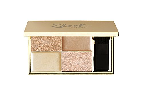 Sleek MakeUP Cleopatra's Kiss Highlighting Palette, 1er Pack (1 x 9 g)