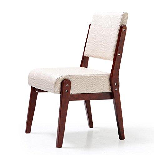 YIDIAN Massivholz Esszimmerstuhl, Sofa Stuhl, Schreibtisch Stuhl, Rückenlehne Stuhl, Bürostuhl, Moderne Minimalistische Esszimmer Möbel, 10 Farben (Farbe : K) (Schlafzimmer Esszimmer Bar Hocker)