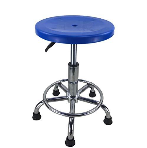 Bürostuhl, drehbar, Edelstahl, höhenverstellbar Modern Large blau