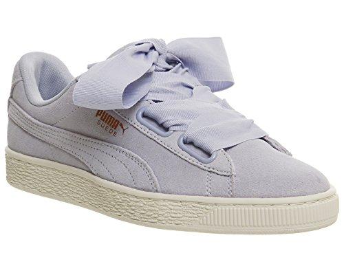 Sport scarpe per le donne, colore Nero , marca PUMA, modello Sport Scarpe Per Le Donne PUMA SUEDE HEART SATIN WNS Nero halogen blue