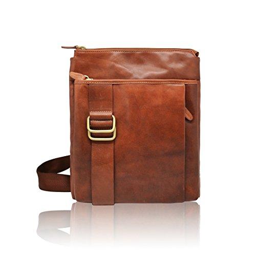#MYITALIANBAG , Sac pour homme à porter à l'épaule, marron clair (marron) - 83012TAN marron clair