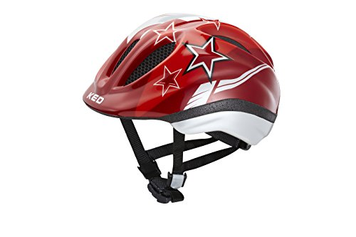KED Fahrradhelm Meggy, Red Stars, S, 16409122S