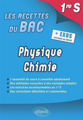 Physique Chimie Première S Programme 2012 + Exos Corrigés en Détail by Christophe Hardouin (2013-02-12)