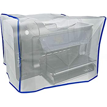 Dust and Water Resistant Silky Smooth Antistatic Vinyl Computer CPU dust Cover 8W x2H x8D