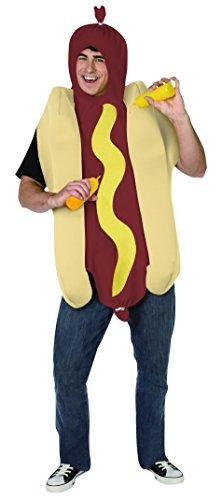 Generique - Hot-Dog-Kostüm für Erwachsene -