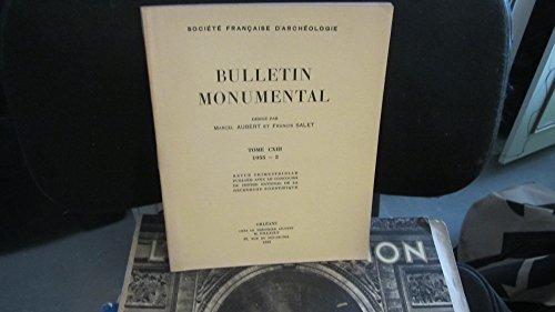 Bulletin Monumental,tome CXIII (113),1955,fascicule 2 / Le Chteau d'Oudon