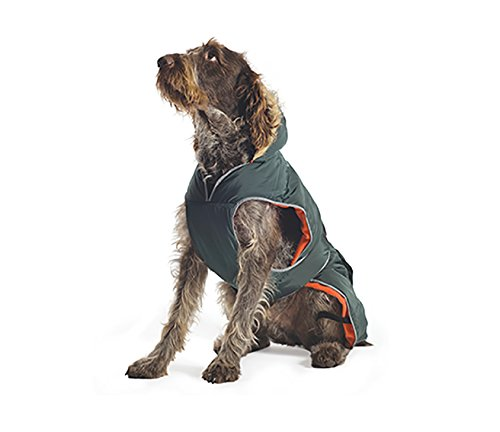 Ancol Muddy Paws Green Parka Dog Coat (Large)
