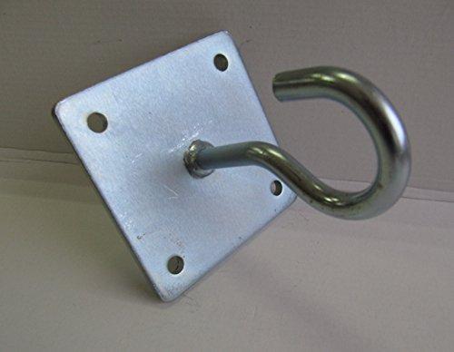 ANGOPE Halterung Hängematte offenen sehr robust, Haken Farbe verzinkt–Öse Aufhängeset für...