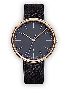 Uniform Wares Damen-Armbanduhr M38_SGO_W1_CRG_BLK_1618S_01