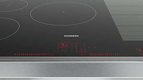 Siemens EX845LVC1E piano cottura Nero, Acciaio inossidabile Incasso ...