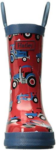Hatley Fall Winter 15-farm Tractors, Jungen Stiefel Rot