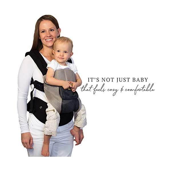 LÍLLÉbaby  Complete Airflow 6-in-1 Baby Carrier, Grey/Silver Lillebaby Made from breathable mesh fabric to help keep parent and child cool and comfortable and with 6 carrying positions - Foetal, infant inward, outward, toddler inward, hip, back - The only carrier you'll ever need! Suitable from 3.2- 20kg (birth to approx. 4 years old), providing extended comfortable use for parent and child with no additional infant support required for new-borns - the ergonomic adjustable seat is acknowledged as 'hip-healthy' by the International Hip Dysplasia Institute Unique spacious head support with elasticated straps - soothes infants with gentle lulling motion and provides excellent support as children grow 4