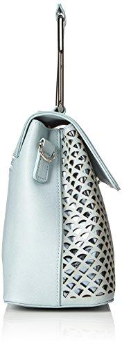 Bulaggi Damen Tzabar Handbag Henkeltasche, 12x21x28 cm Blau (Pastel Blau)