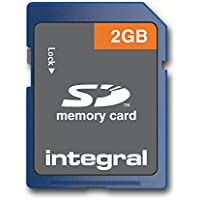 Integral Carte mémoire flash 2 Go Carte Mémoire SD