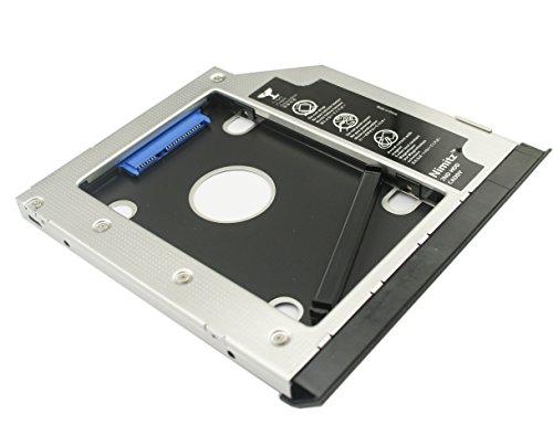 Nimitz 2nd HDD SSD-Caddy per Hard disk, per Dell Latitude E6420 E6430 E6520 E6530 E6320 E6330 Modular Bay con base