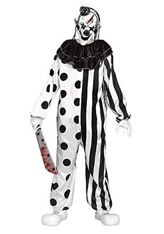 Fun World Killer Clown Child Costume MEDIUM 8-10 (Costume World)