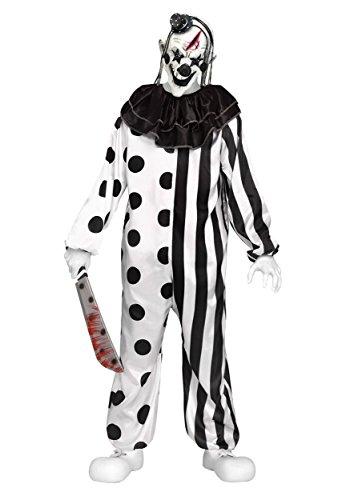 wn Child Costume MEDIUM 8-10 (Jungen Killer Clown Kostüme)