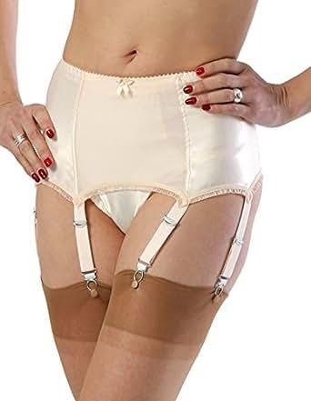 What Katie Did Harlow Vintage Peach Deep Suspender Belt L2017 8