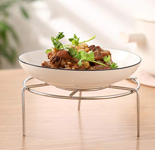 HANQINGLI Edelstahl Dampfenden Rack Küche Rack Reiskocher Dampfenden Reis Dampfer Dampfer Rack Dampfteller Hoch Dampfenden Gitter (Gitter-dampfer)