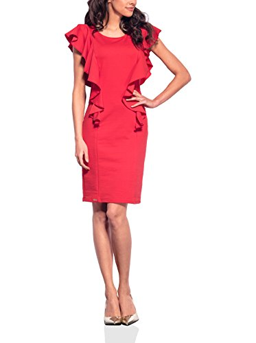 Lemoniade Damen A-Linie Kleid Rot