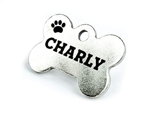 Haustierbedarf Schreibtischgarnituren Hundemarke Aus Olivenholz Gravur Mit Name & Telefon Groß Vertrieb Von QualitäTssicherung