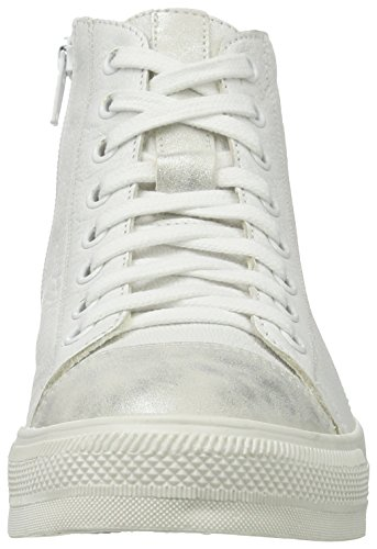 Black 251 222, Sneakers basses femme Weiß (WHITE/SILVER)