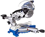 Ford Bevel Sliding Cutting Mitre Saw with Laser Corded Electric Wood Cutter, 1200 Watts, 190 mm, FX1-1053, Blu