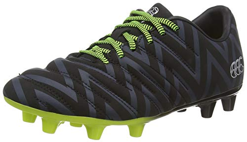 Canterbury of New Zealand Phoenix 2.0 Firm Ground, Zapatillas de Rugby Unisex Niños, Negro Black Junior...