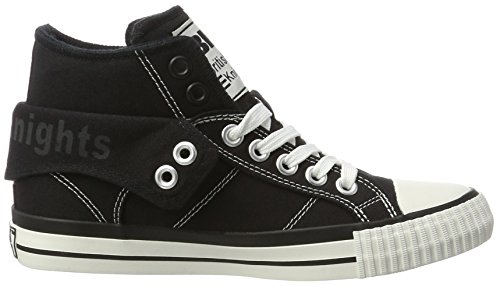 British Knights Damen Roco High-Top Schwarz (Black)
