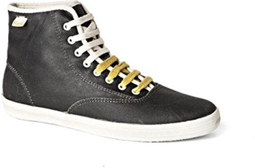 Keds Schuhe Champion Vintage Oiled Hi Charcoal, Schuhgrösse:36 (Vintage Keds)