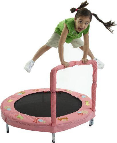 Bazoongi 48-inch Bunny Bouncer Trampoline with Handle Best Price and Cheapest