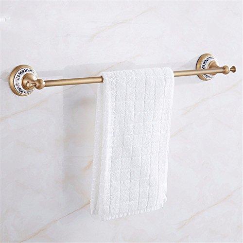 Gäste-handtuchhalter Antik (Antike im europäischen Stil Badezimmer Handtuchhalter Handtuchhalter full-muster Kupfer bar Badezimmer hardware Anhänger, 61 cm, B)