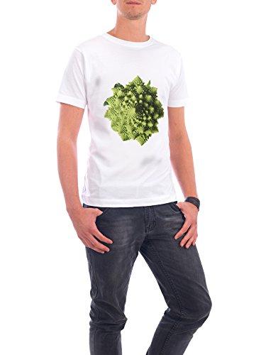 """Design T-Shirt Männer Continental Cotton """"Romanesco"""" - stylisches Shirt Essen & Trinken von Tan Kadam Weiß"""