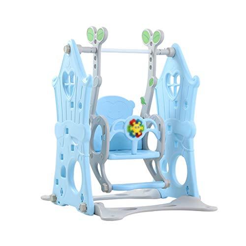 QQET-L Columpio Desmontable, Dormitorio Interior Columpio Habitación de los niños Patio de recreo Decoración multifunción en Forma de Hoja Columpio (Tamaño : 80 * 105 * 104CM)