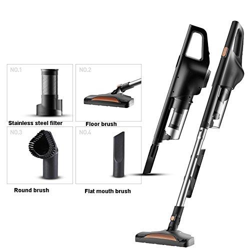 LWZ Staubsauger Vakuum, robuste Teppichreiniger, Ultraleicht, weich, geräuscharm, abnehmbar, 600W High Power Vertikal/Handheld (Ausgabe : Package 1)
