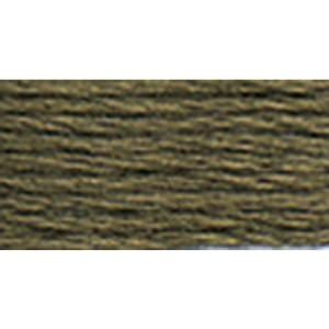 DMC 117-3787 Mouline Stickgarn, Baumwolle, 6 Stränge, Dunkelbraun/Grau, 22,6 m