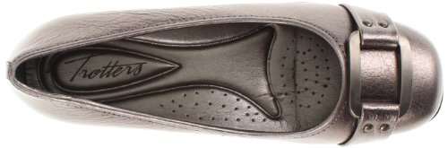 Trotters  Sizzle Signature, Ballerines femme Gris - Pewter