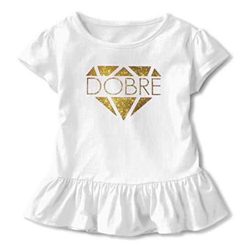 Kinder Jungen Mädchen Shirts Dobre Brothers T Shirt Kurzarm T-Shirt Für Kleinkind Jungen Mädchen Baumwolle Sommer Weiß 2 T -