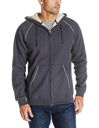 Charles River Apparel Herren Sweatshirt Sherpa Thermo Bonded - Blau - XXXX-Large Charles River Apparel Fleece Pullover
