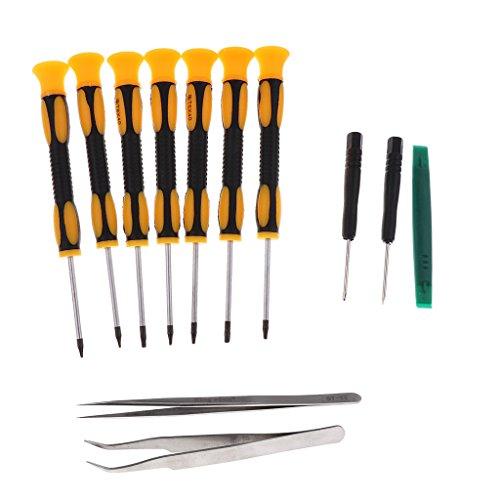 Kesoto Werkzeug-Set, 7-in-1, Schraubendreher, Hebel, T6, T8, T10, für Xbox One Xbox 360 Controller und PS3 PS4