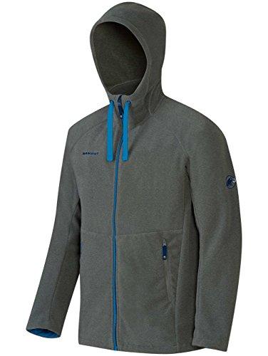Mammut Yadkin Advanced ML Hooded Jacket Men (Fleece Jackets/Vests), color:titanium;size:XL
