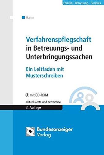 Cover »Verfahrenspflegschaft in Betreuungs- und Unterbringungssachen«