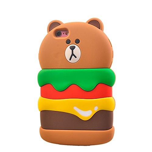"COOLKE Mode 3D Style Cartoon Gel Soft silicone Coque Housse étui Case Cover Pour Apple iPhone 6 6s (4.7"") - 020 016"