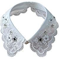 Black Temptation Camisa Desmontable Cuello Falso Collar Accesorio Collar Desmontable Dickey Collar, A
