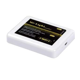 SainStyle FUT-097 2.4G LED RGB sans fil RF contrôleur tactile Adaptateur téléphonique Dimmable & Wifi à distance