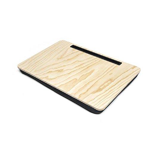 Kikkerland US039XL-W Extragroßer Tablethalter, Holz