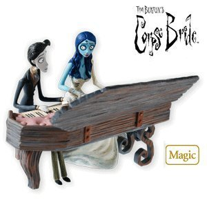QXI2096 A Spirited Duet Tim Burton's Corpse Bride 2010 Hallmark Magic Ornament by Unknown