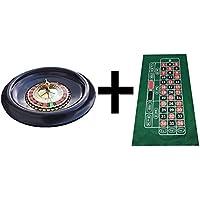 Grande Roulette de 40cm (40,6cm), balles, d'Énormes 180cm Vert mise en page/feutre + gagnante marqueur