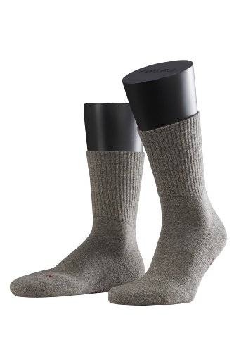 2 Paar FALKE Walkie Light Socken, Unisex (39-41, graphit melange)